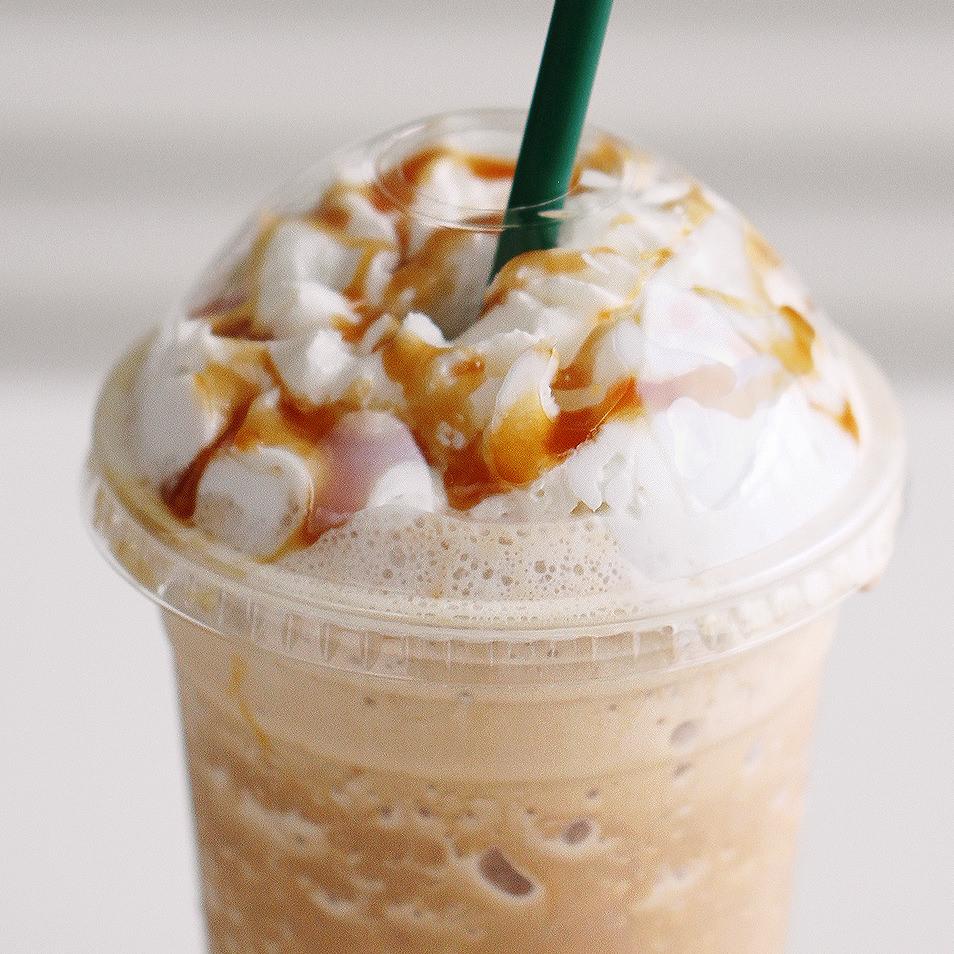 Starbucks copycat caramel frap