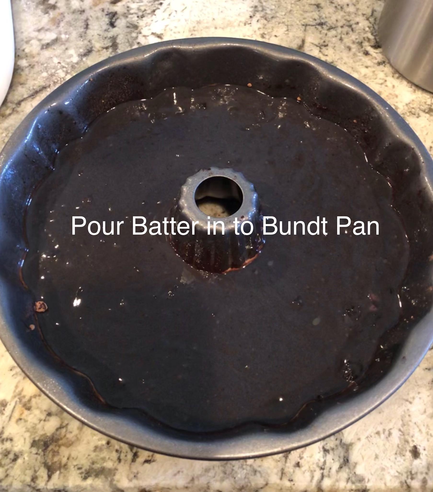 B.C.S. Bundt Cake