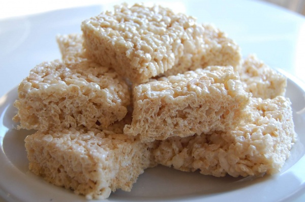 Rice Krispies treats that stay soft for days