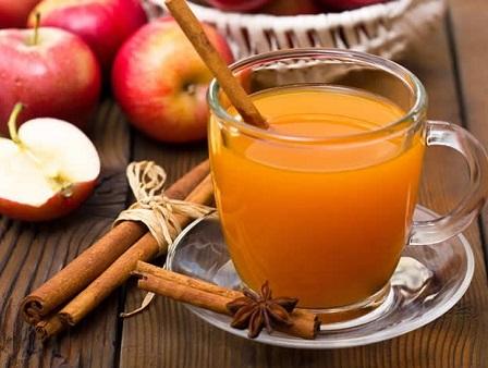 Hot Spiked Apple Cider Beverage