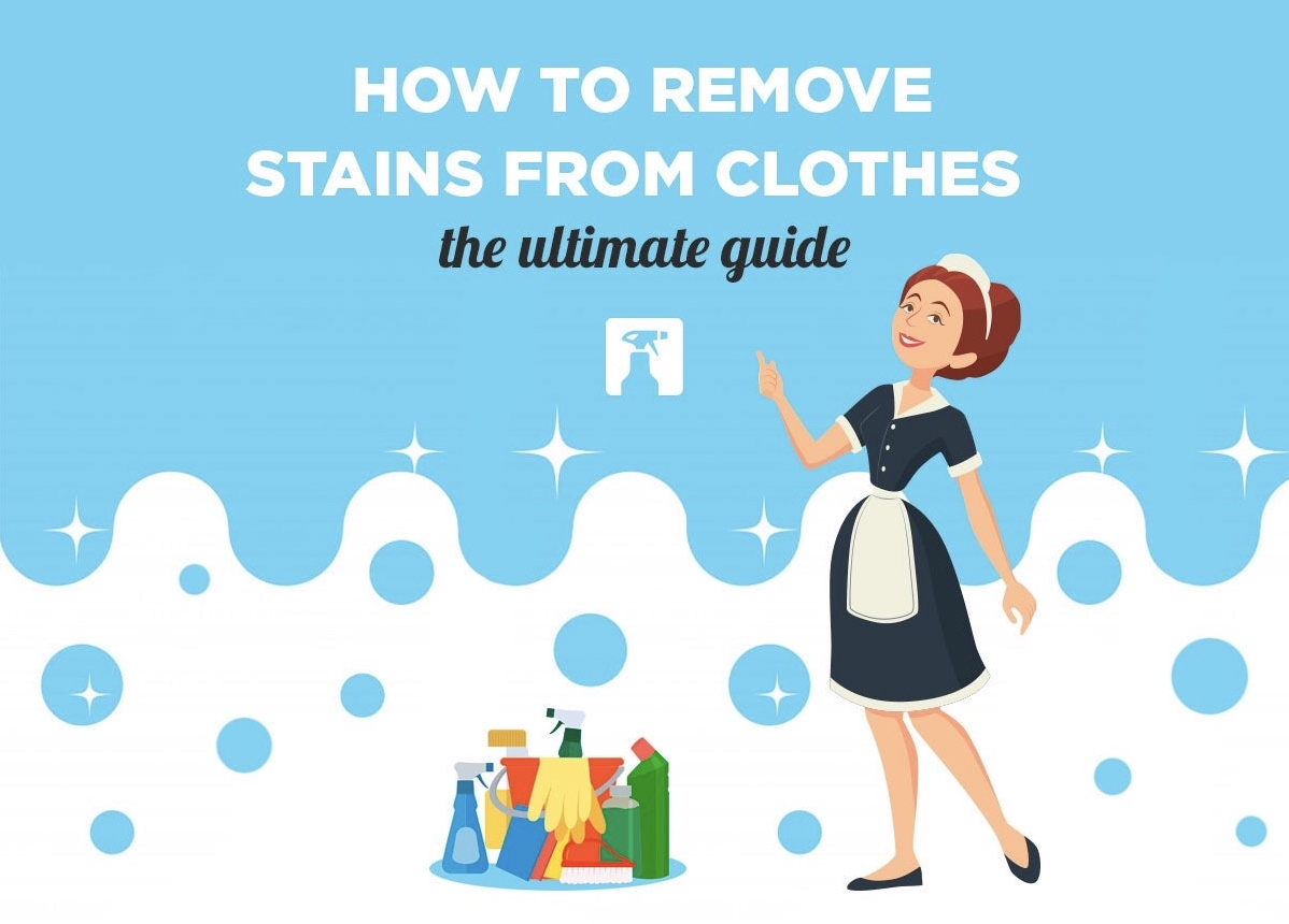 How to Remove Clothing Stains